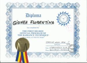 Diploma acreditare Tehnica Radianta